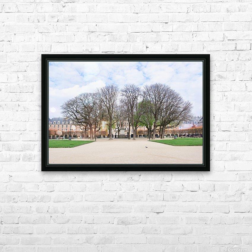 Place des Vosges HD Sublimation Metal print with Decorating Float Frame (BOX)
