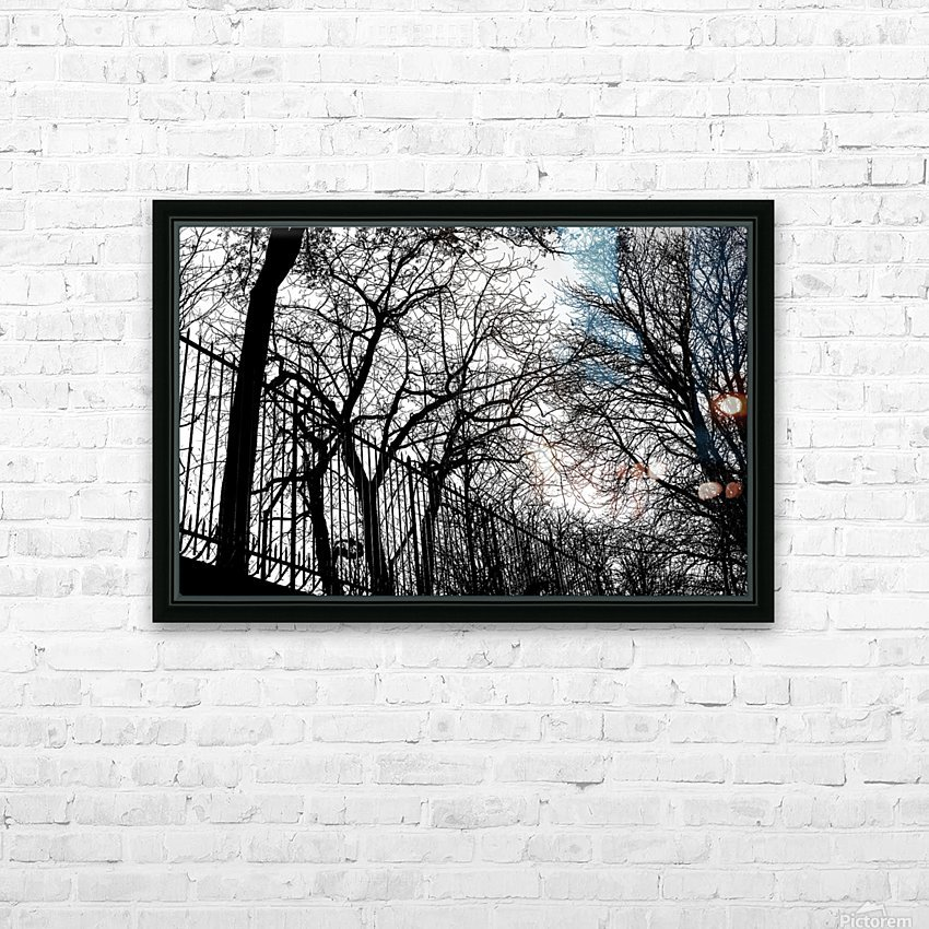Pere Lachaise HD Sublimation Metal print with Decorating Float Frame (BOX)