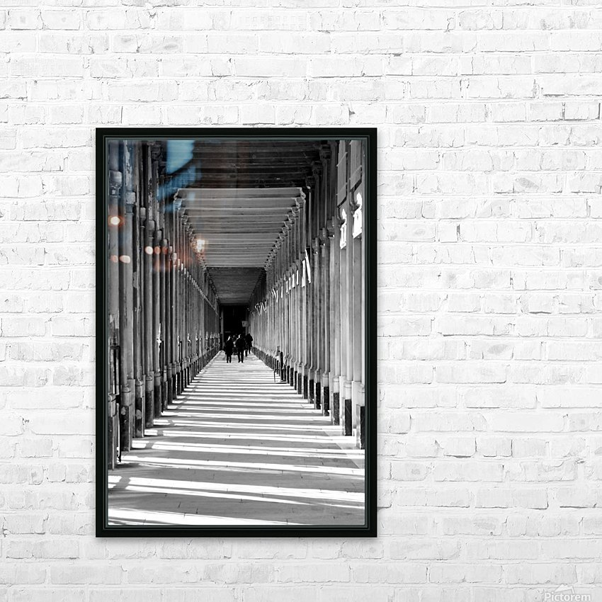 Les Arcades HD Sublimation Metal print with Decorating Float Frame (BOX)