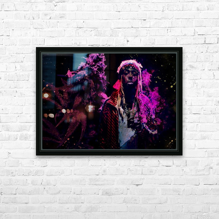 2 HD Sublimation Metal print with Decorating Float Frame (BOX)