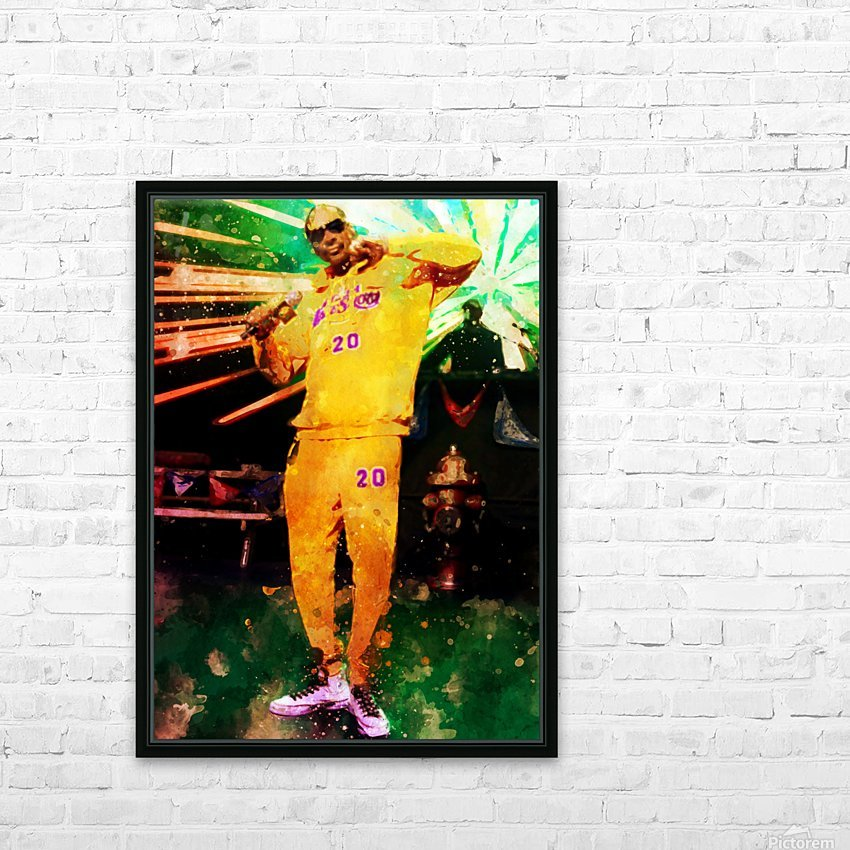 17 HD Sublimation Metal print with Decorating Float Frame (BOX)