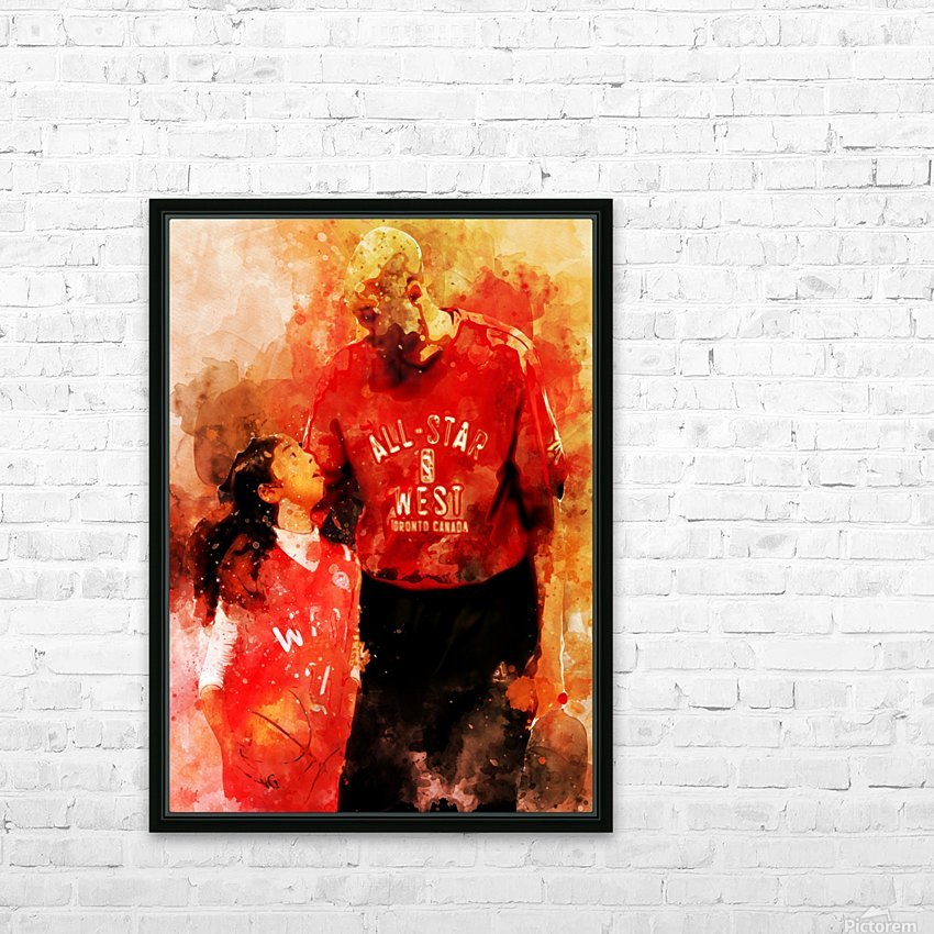 rthr HD Sublimation Metal print with Decorating Float Frame (BOX)