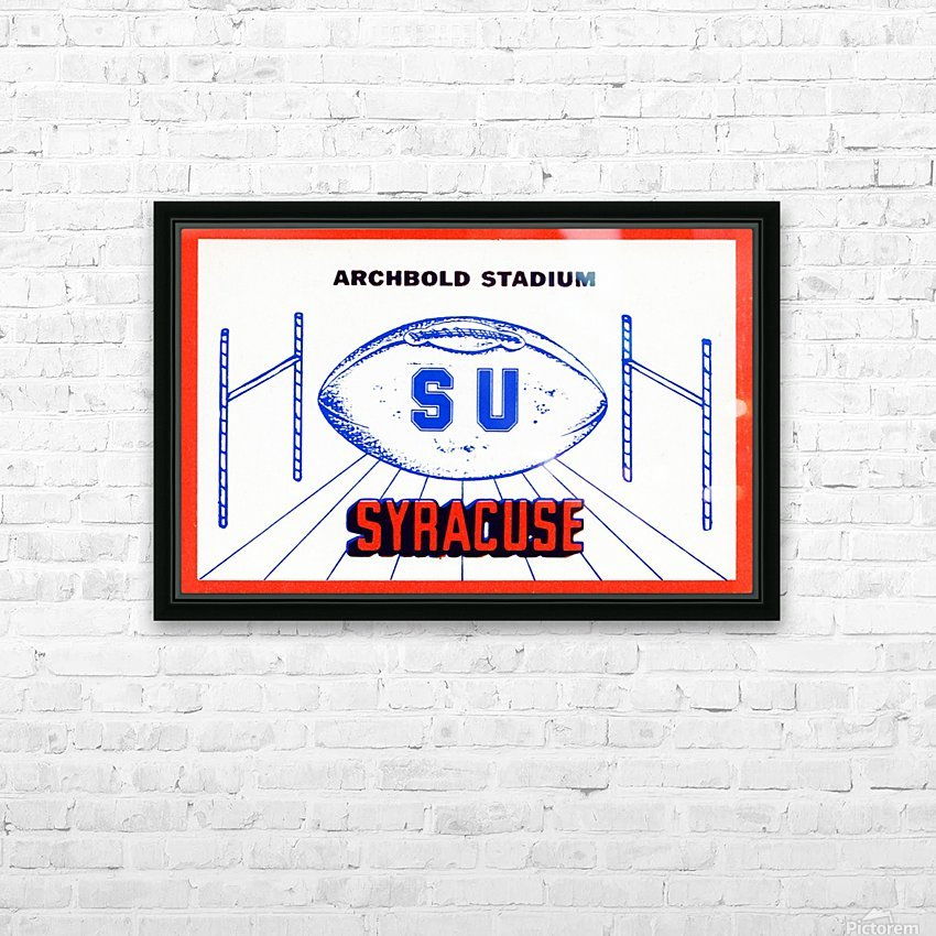 art made from ticket stubs HD Sublimation Metal print with Decorating Float Frame (BOX)