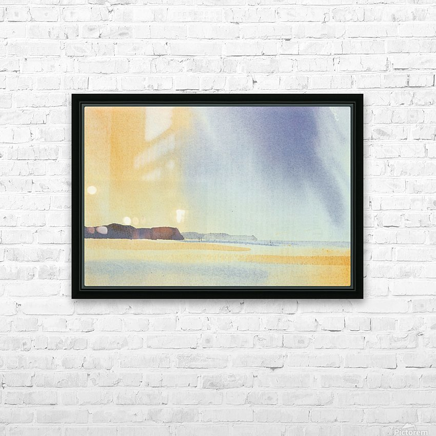 avion HD Sublimation Metal print with Decorating Float Frame (BOX)