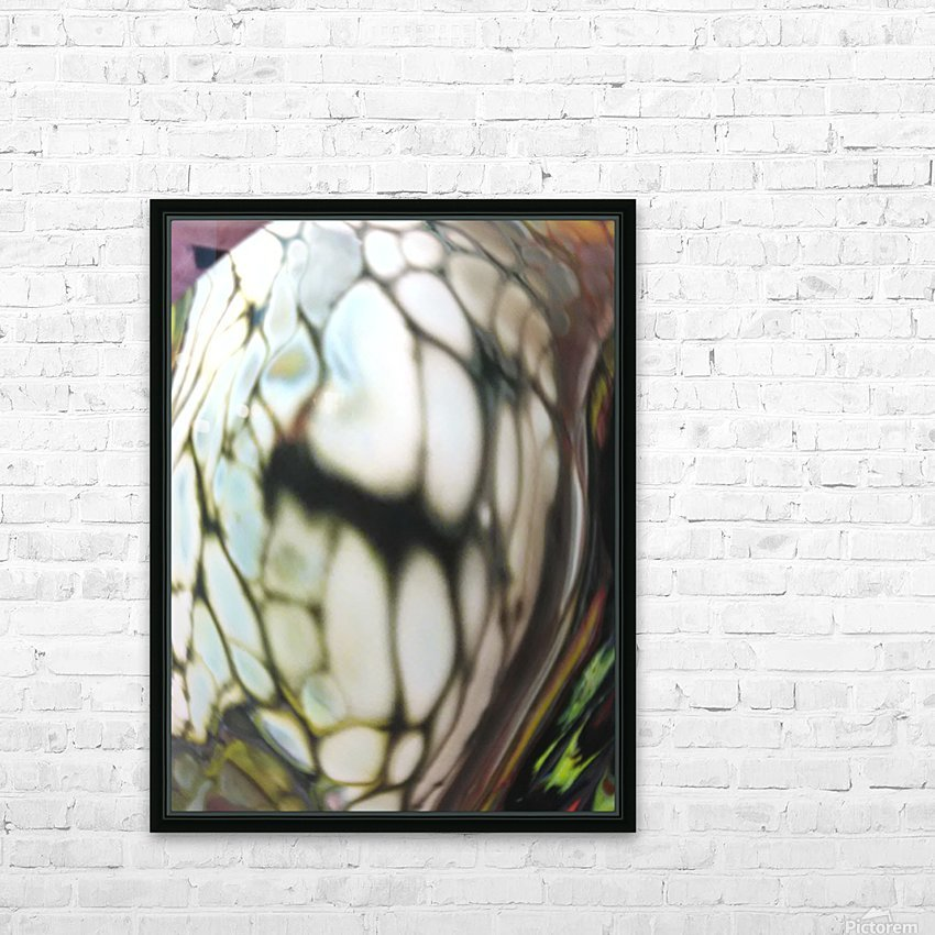 fractral HD Sublimation Metal print with Decorating Float Frame (BOX)