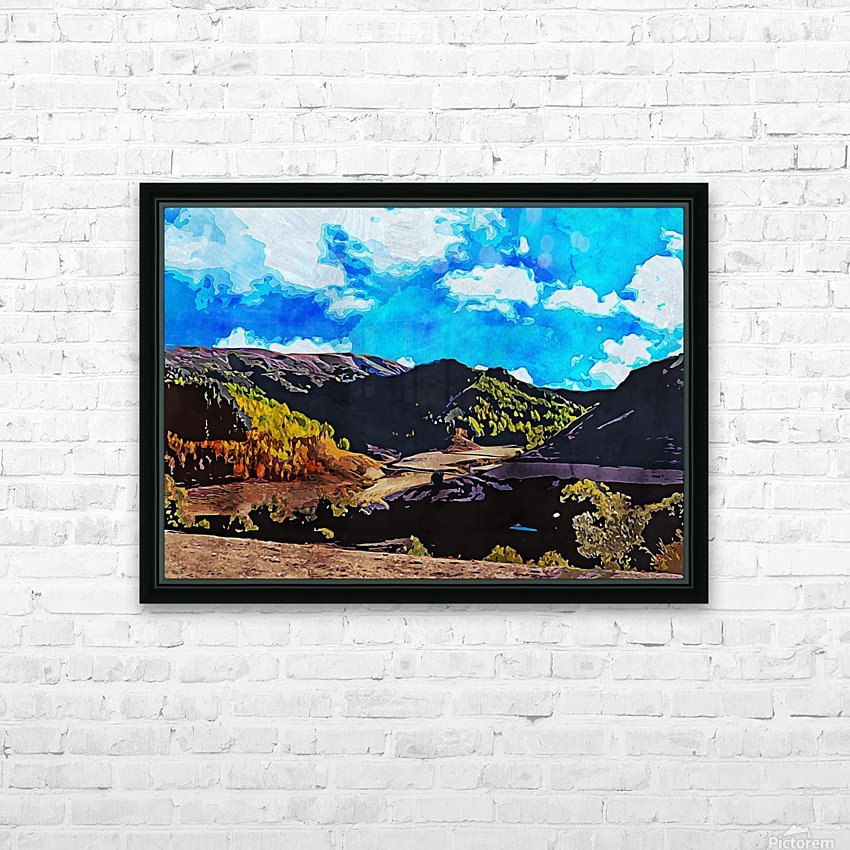 Beautiful Nature Object 12 HD Sublimation Metal print with Decorating Float Frame (BOX)