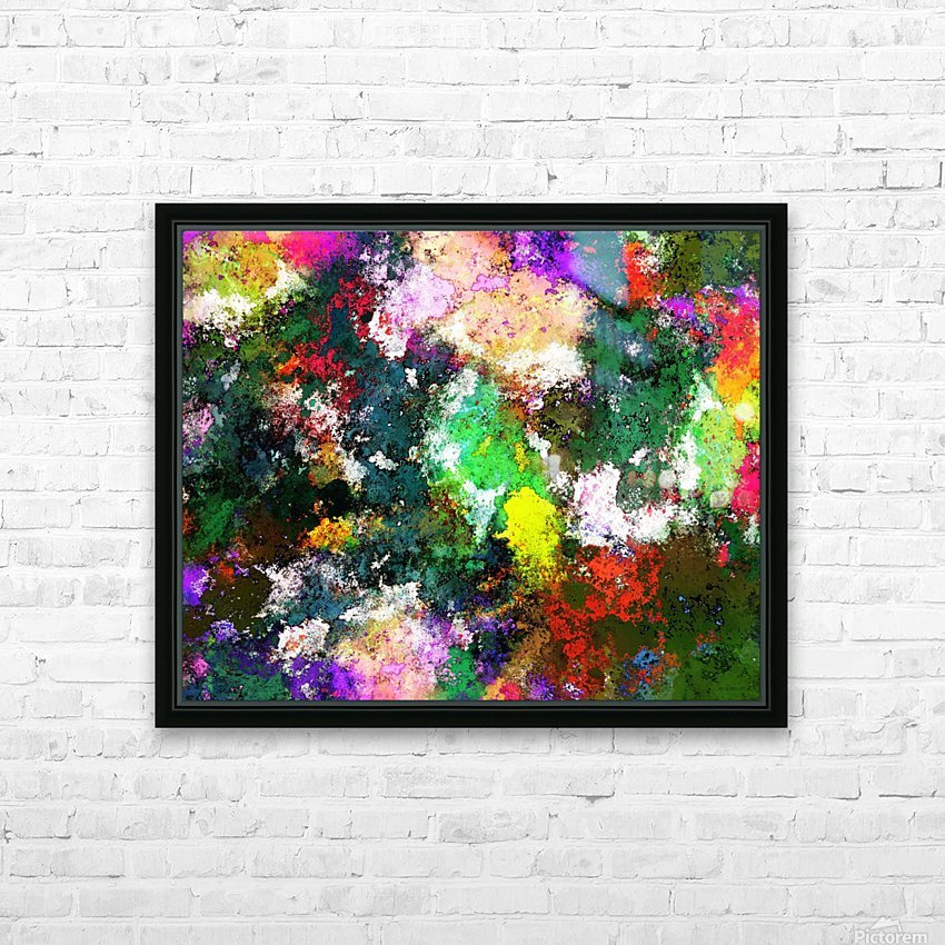 Tumbling down HD Sublimation Metal print with Decorating Float Frame (BOX)