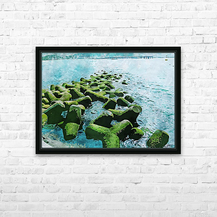 Wall Nature Decoration 7 HD Sublimation Metal print with Decorating Float Frame (BOX)