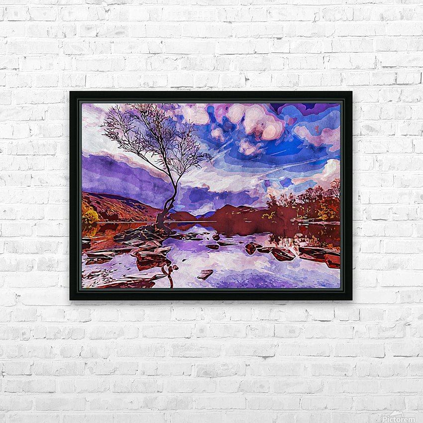 Wall Nature Decoration 6 HD Sublimation Metal print with Decorating Float Frame (BOX)