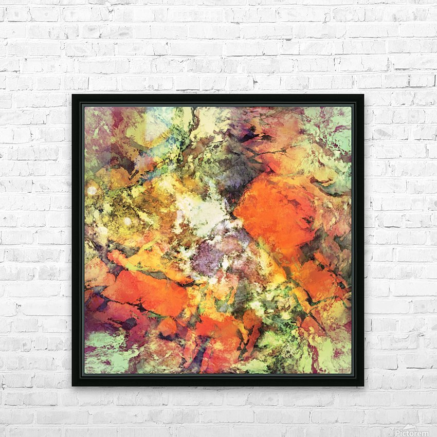 Under the surface HD Sublimation Metal print with Decorating Float Frame (BOX)