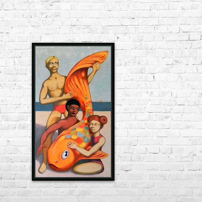 the great beauty HD Sublimation Metal print with Decorating Float Frame (BOX)