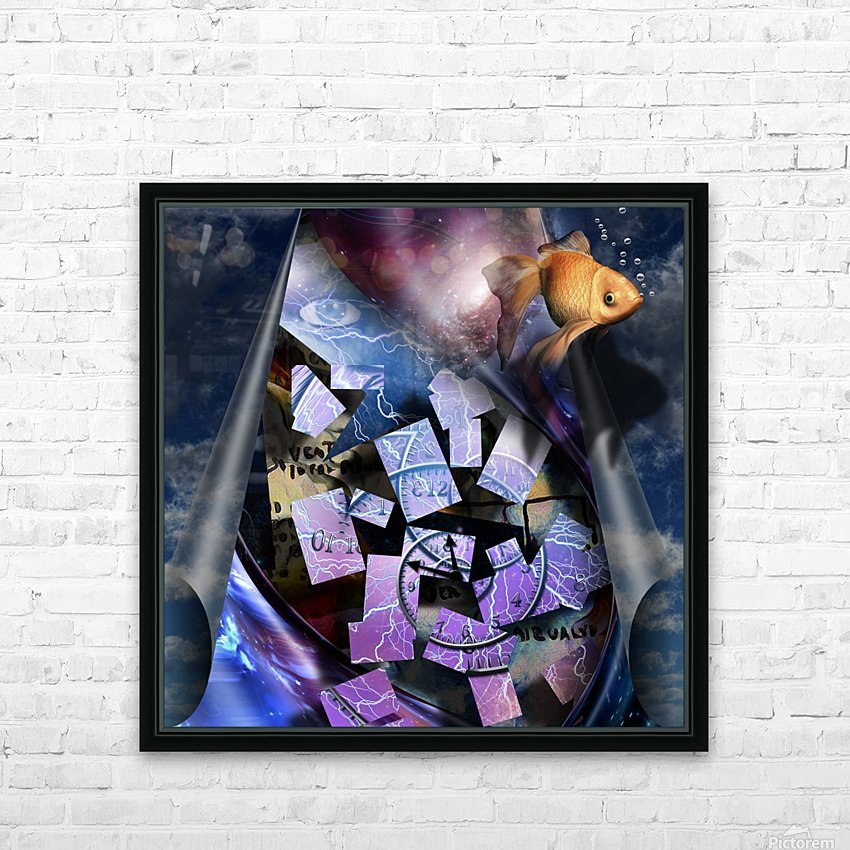 In a Dream HD Sublimation Metal print with Decorating Float Frame (BOX)
