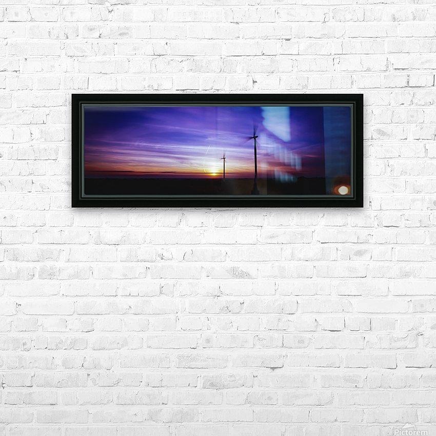 Velvet Flight HD Sublimation Metal print with Decorating Float Frame (BOX)