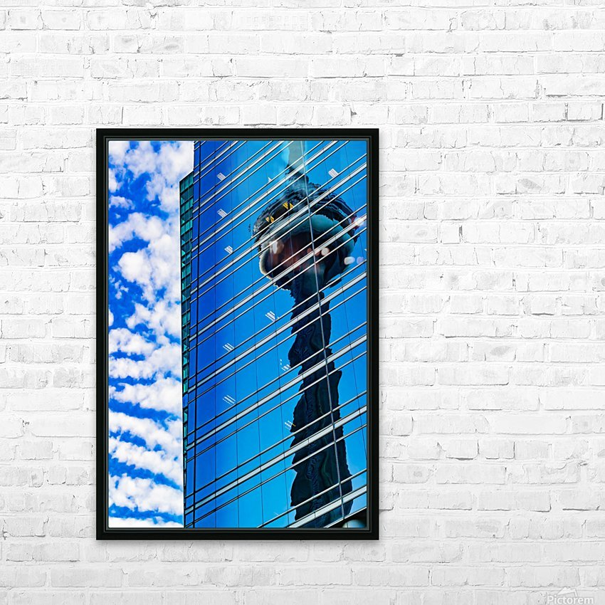 Shimmer In The 6ix HD Sublimation Metal print with Decorating Float Frame (BOX)
