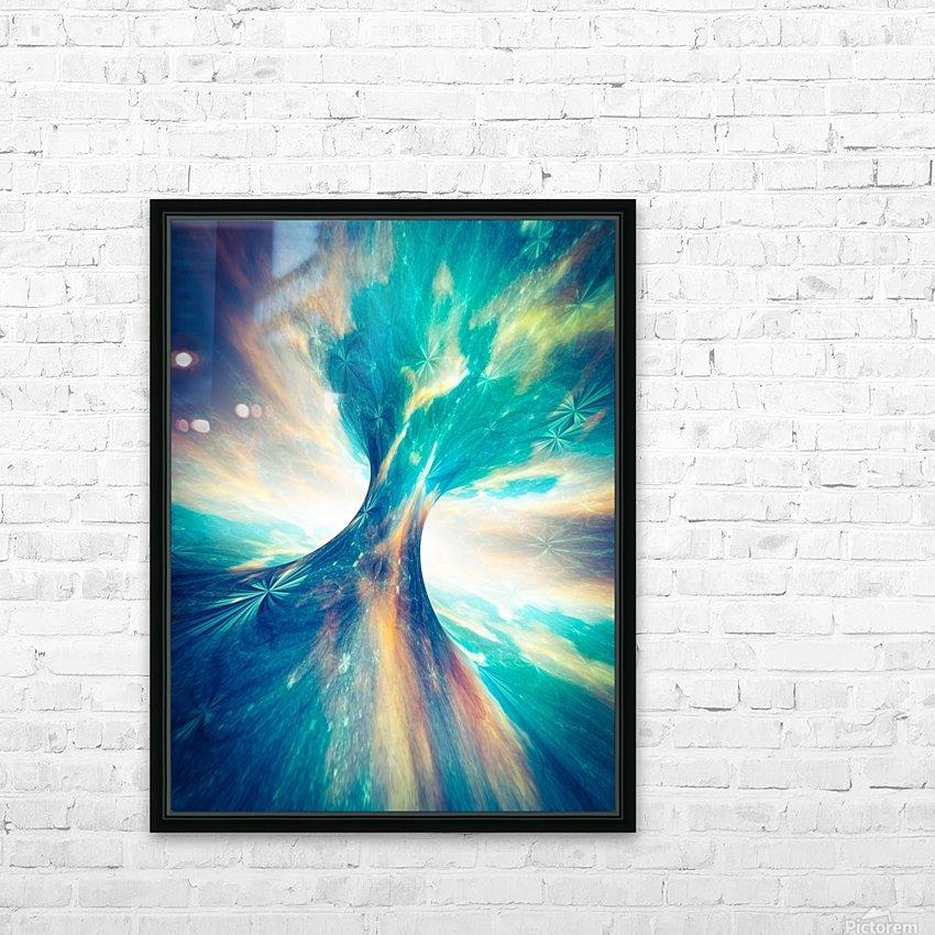The Crab Nebula Bridge HD Sublimation Metal print with Decorating Float Frame (BOX)