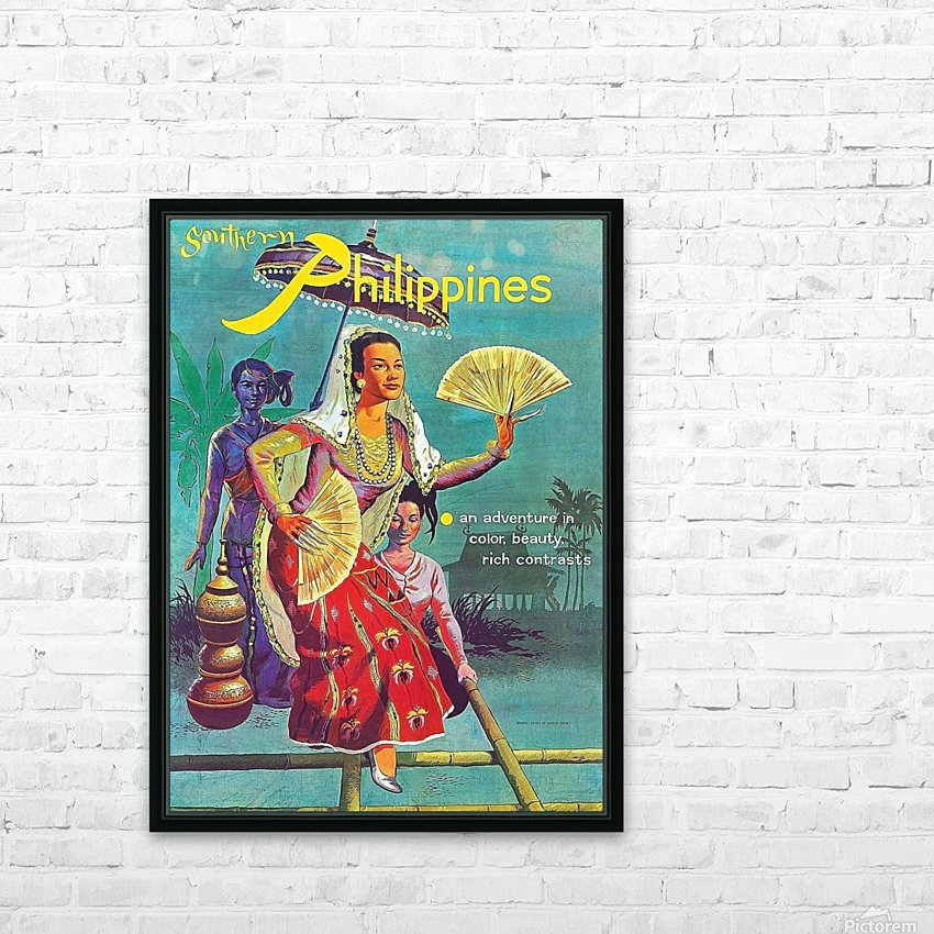 Philippines HD Sublimation Metal print with Decorating Float Frame (BOX)