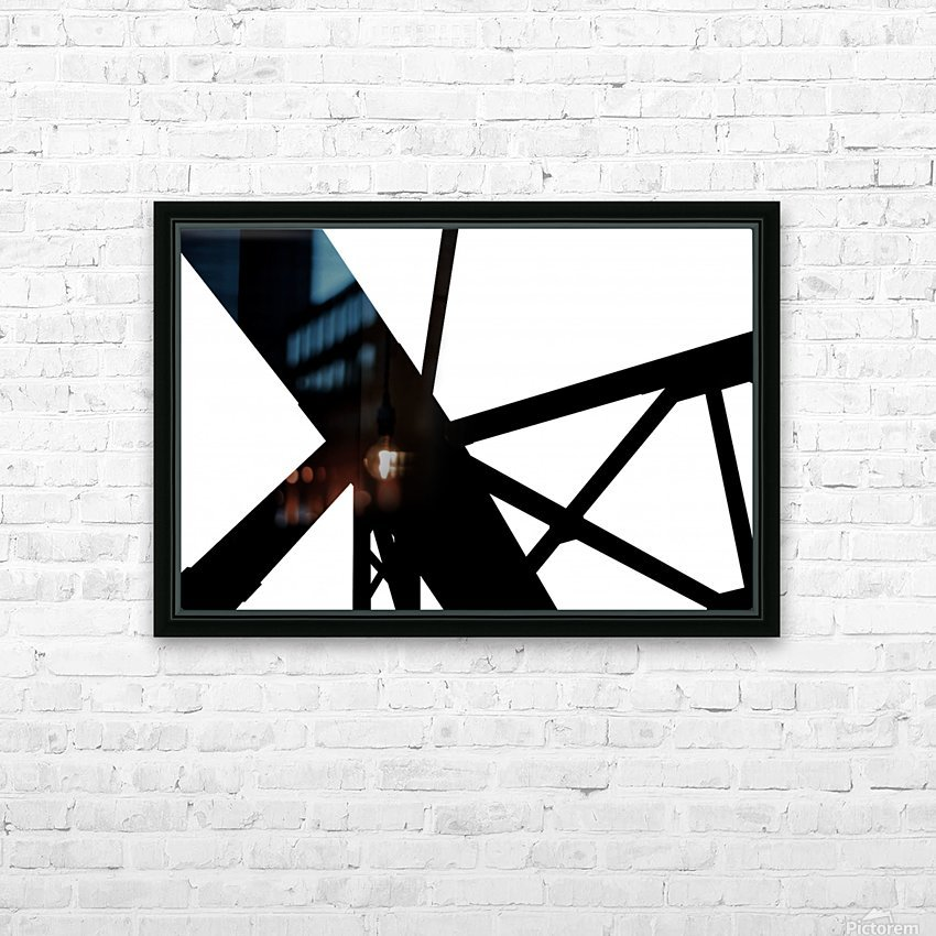 Bridge - XXIII HD Sublimation Metal print with Decorating Float Frame (BOX)