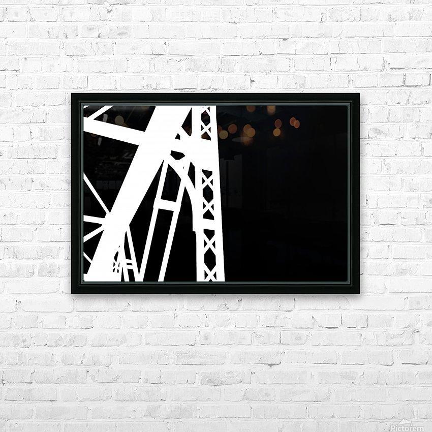 Bridge - XXIV HD Sublimation Metal print with Decorating Float Frame (BOX)