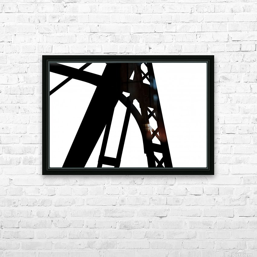 Bridge - XXVI HD Sublimation Metal print with Decorating Float Frame (BOX)