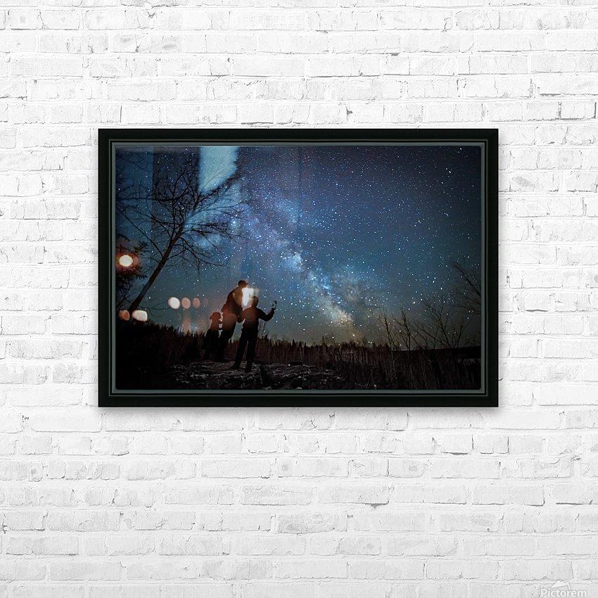 River of Heaven HD sublimation métal imprimé avec décoration flotteur cadre (boîte)