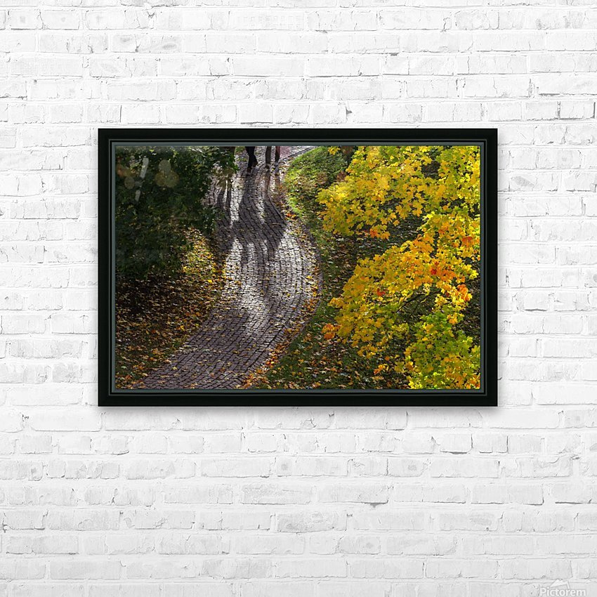 AUTUMN 02 HD Sublimation Metal print with Decorating Float Frame (BOX)