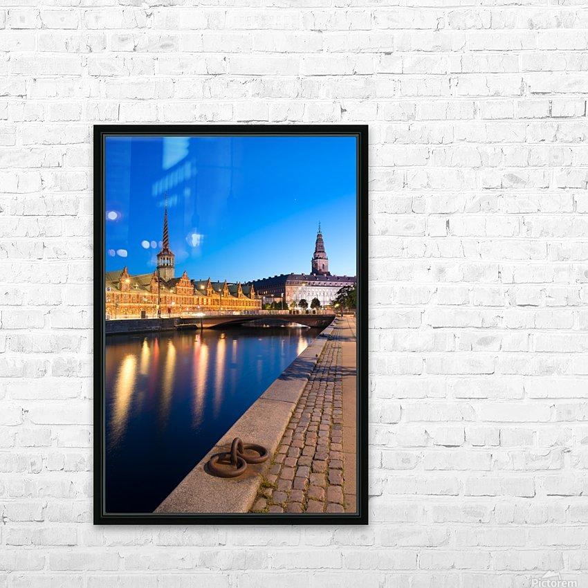 COPENHAGEN 04 HD Sublimation Metal print with Decorating Float Frame (BOX)