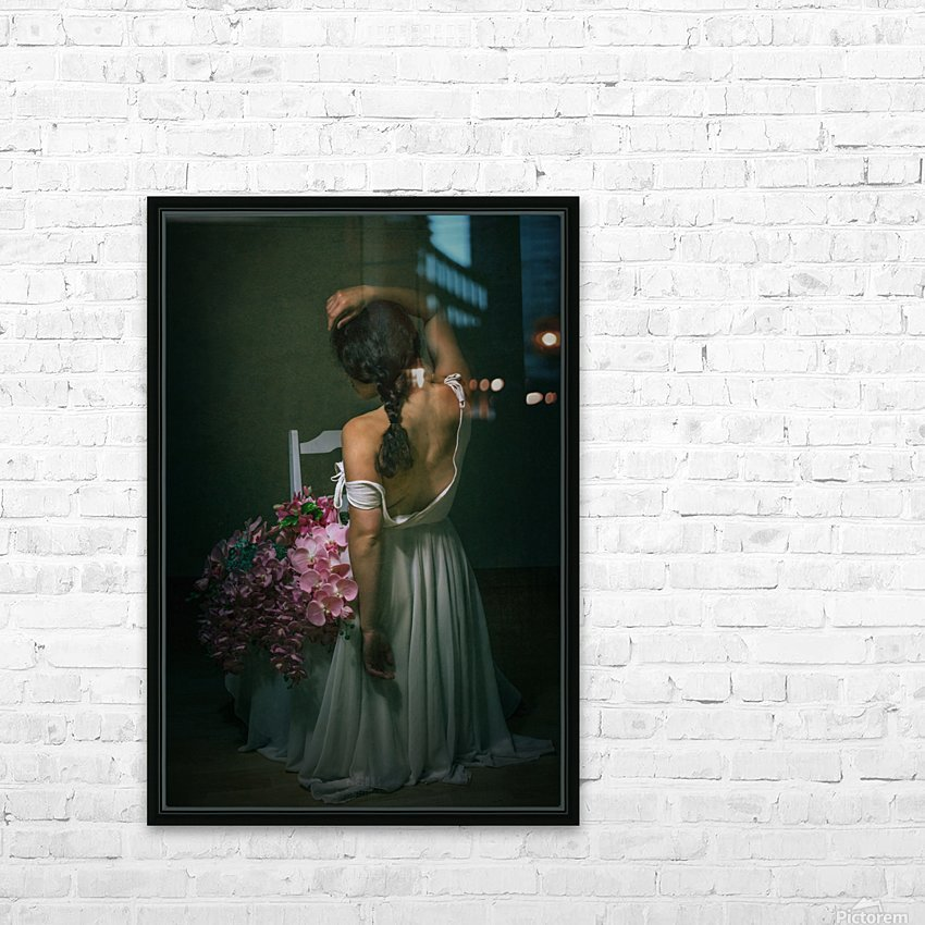 Le beau dos 2 HD Sublimation Metal print with Decorating Float Frame (BOX)