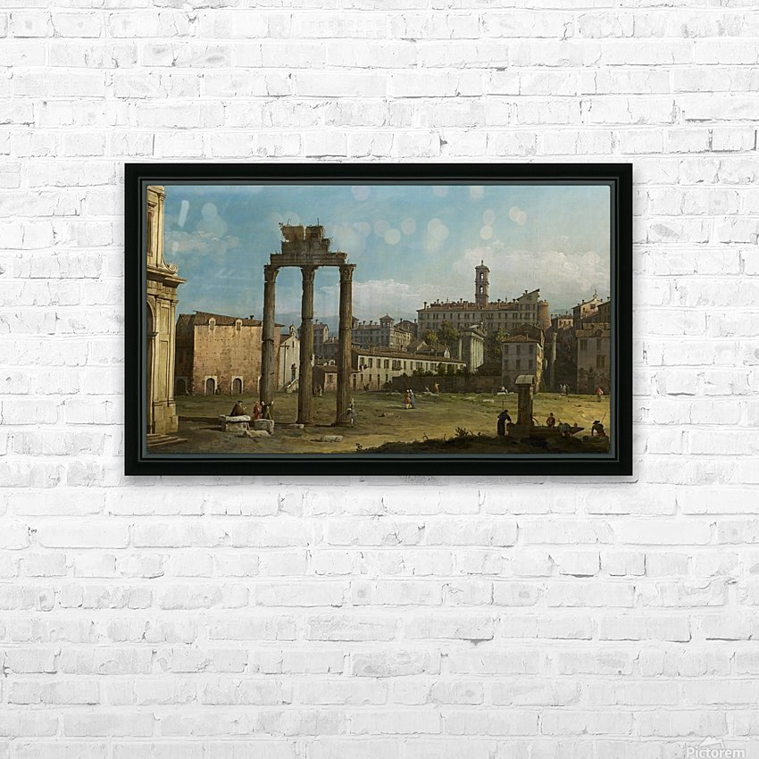 Ruins of the Forum, Rome HD Sublimation Metal print with Decorating Float Frame (BOX)
