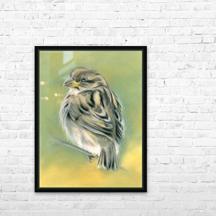 Sunny Sparrow HD Sublimation Metal print with Decorating Float Frame (BOX)