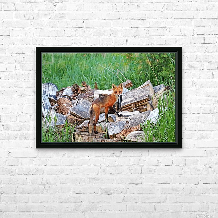 Time To Go Hunting HD Sublimation Metal print with Decorating Float Frame (BOX)