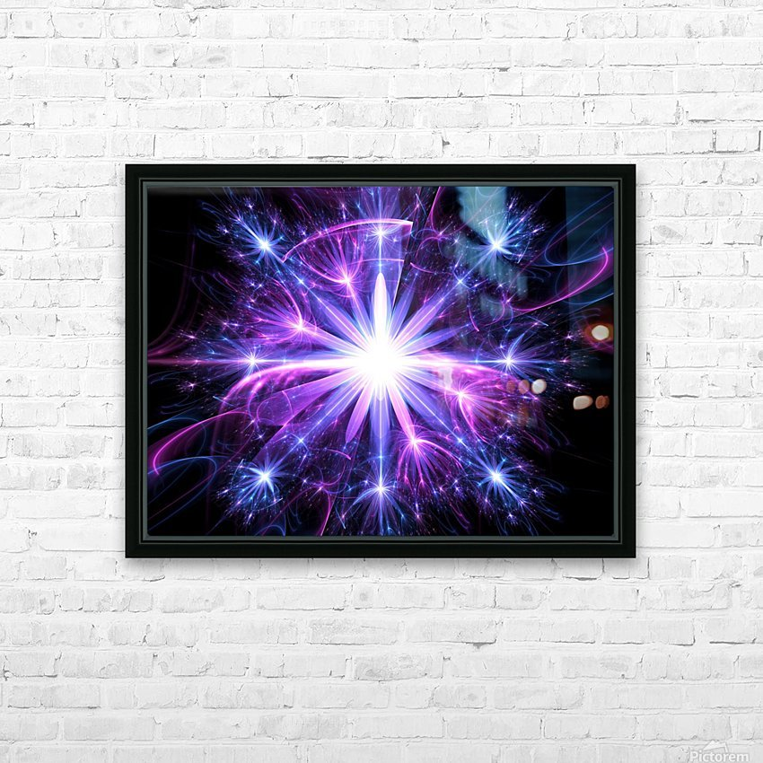 Uprising HD Sublimation Metal print with Decorating Float Frame (BOX)