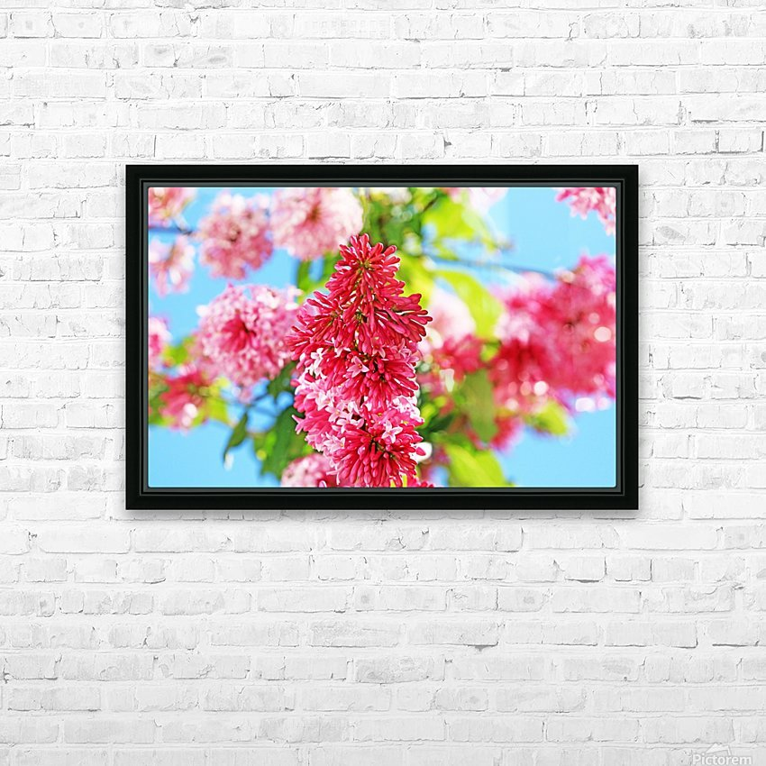 Sweet Side Of Red HD Sublimation Metal print with Decorating Float Frame (BOX)