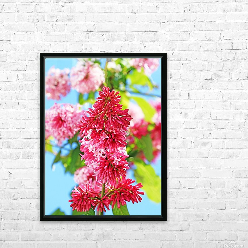Sweet Side Of Red I HD Sublimation Metal print with Decorating Float Frame (BOX)