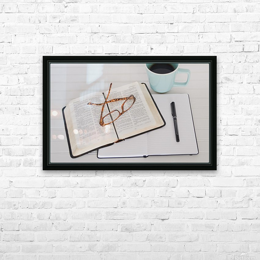Research Paper HD Sublimation Metal print with Decorating Float Frame (BOX)