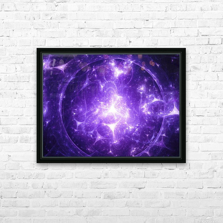 Beyond time HD Sublimation Metal print with Decorating Float Frame (BOX)