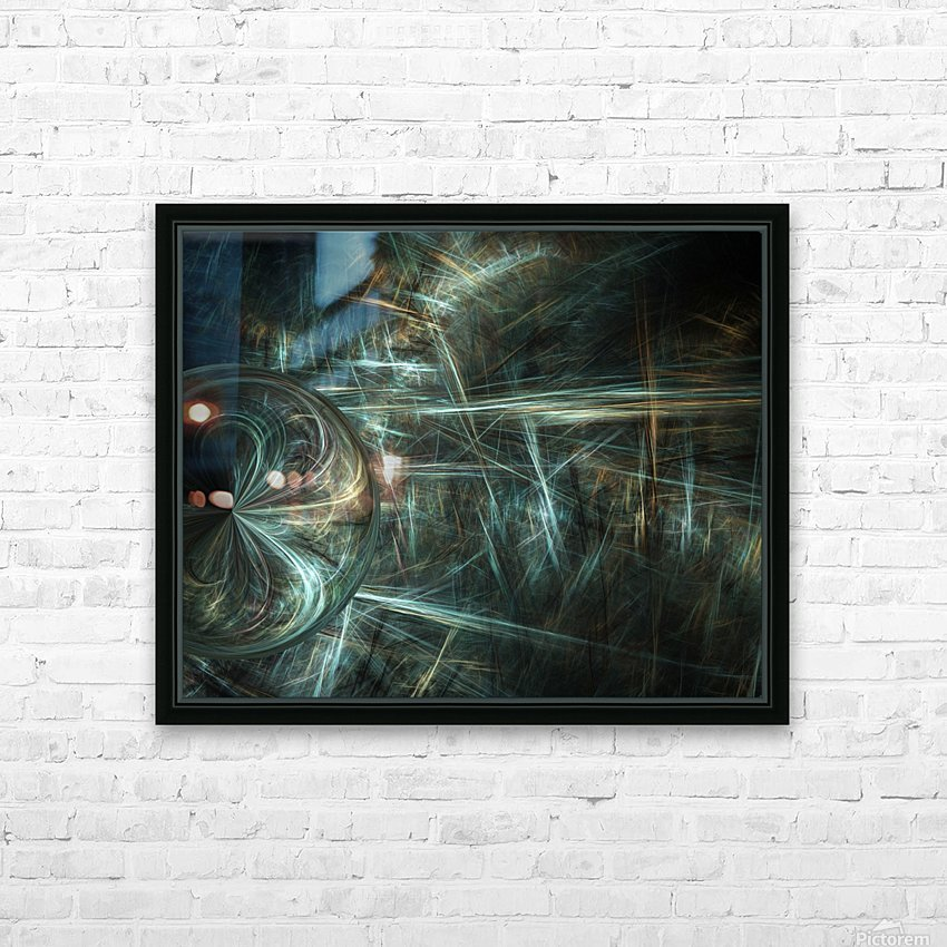 Another world HD Sublimation Metal print with Decorating Float Frame (BOX)