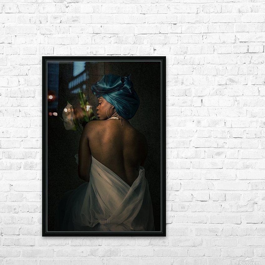 La fidelite HD Sublimation Metal print with Decorating Float Frame (BOX)