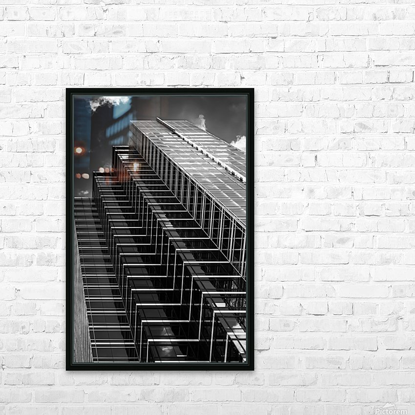 Step Up To The Sky HD Sublimation Metal print with Decorating Float Frame (BOX)