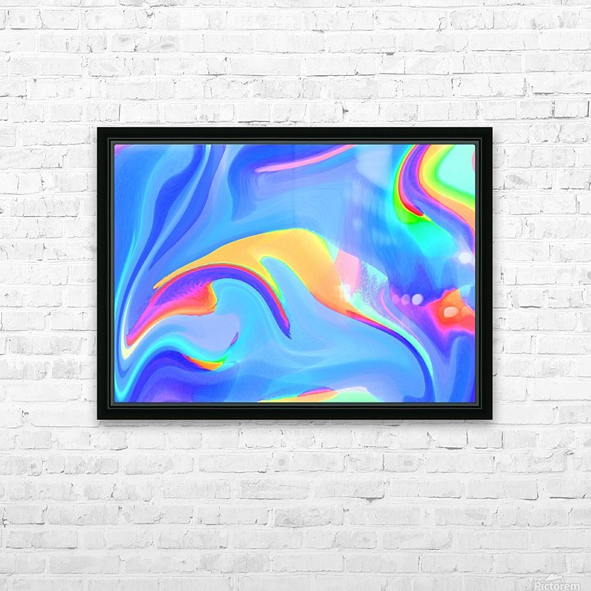wallpapers HD Sublimation Metal print with Decorating Float Frame (BOX)