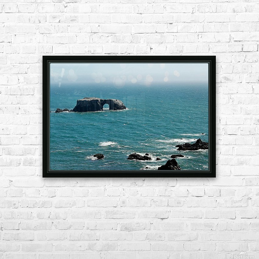 Pacific Coast Highway Clifornia CA 14 HD Sublimation Metal print with Decorating Float Frame (BOX)