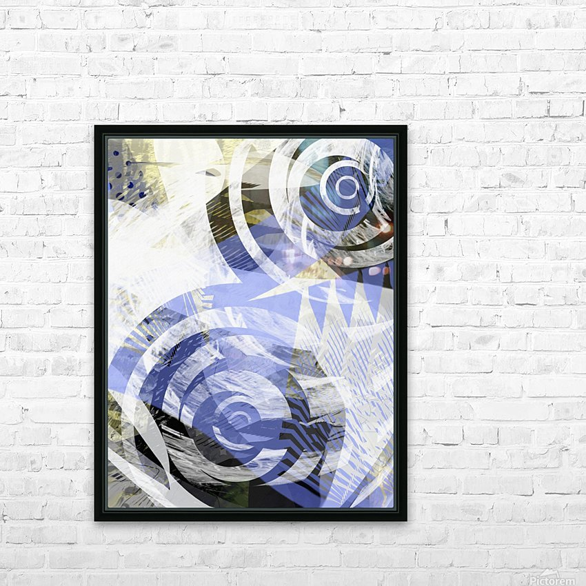 zebra HD Sublimation Metal print with Decorating Float Frame (BOX)