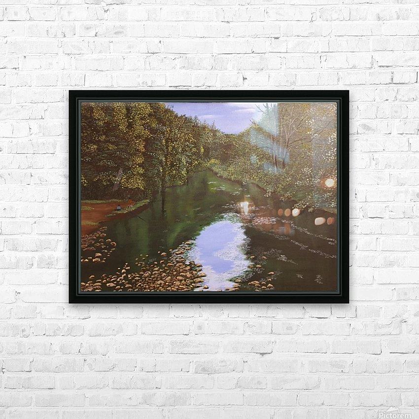 Derwent Walk HD Sublimation Metal print with Decorating Float Frame (BOX)