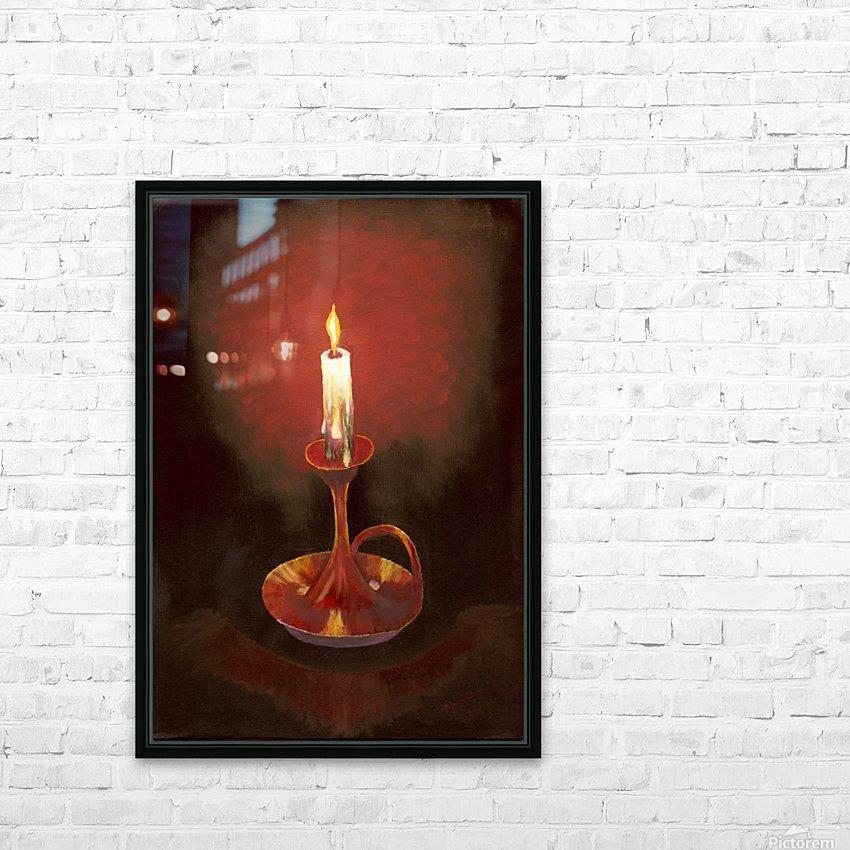 Crimson Dawn copy HD Sublimation Metal print with Decorating Float Frame (BOX)