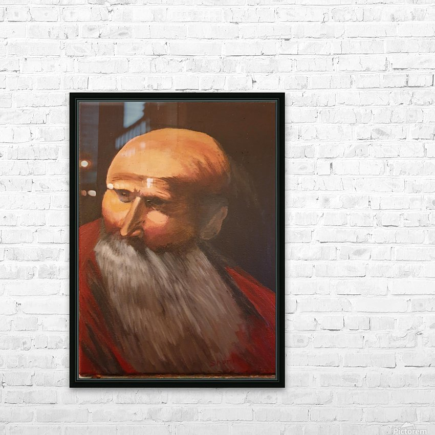 Abraham HD Sublimation Metal print with Decorating Float Frame (BOX)