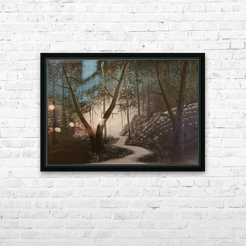 Idyll HD Sublimation Metal print with Decorating Float Frame (BOX)