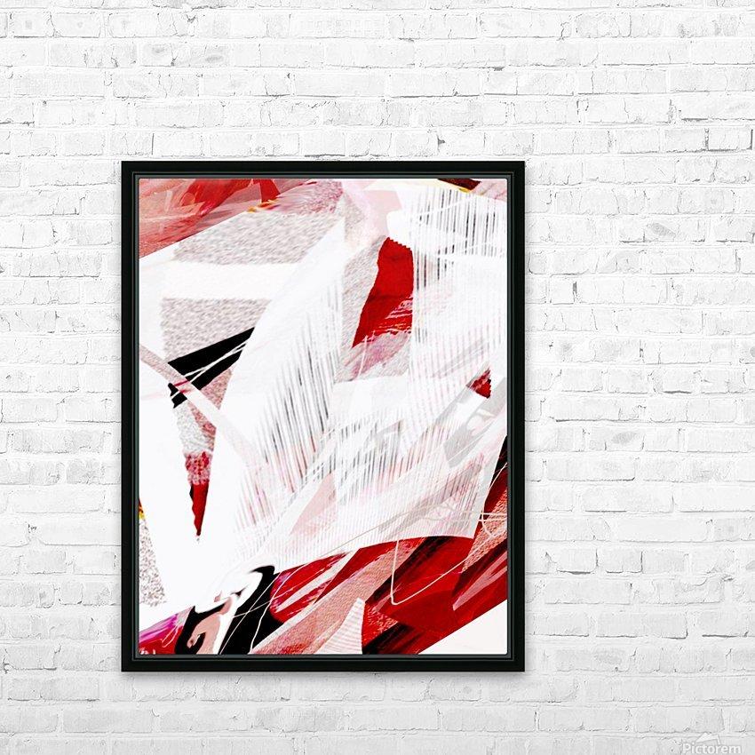 a l a b a s  t e r HD Sublimation Metal print with Decorating Float Frame (BOX)
