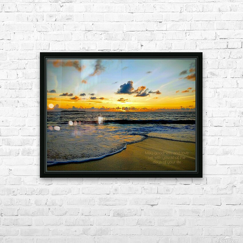 Goodness_and_love_bahamas HD Sublimation Metal print with Decorating Float Frame (BOX)
