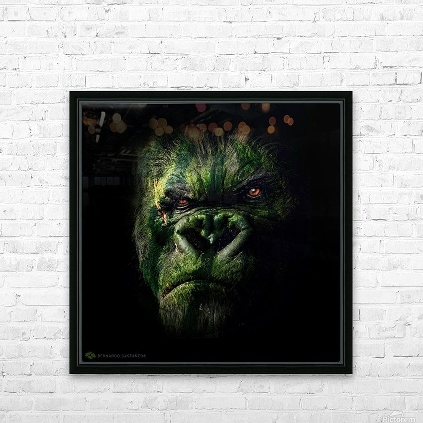 WATERMELOKONG HD Sublimation Metal print with Decorating Float Frame (BOX)