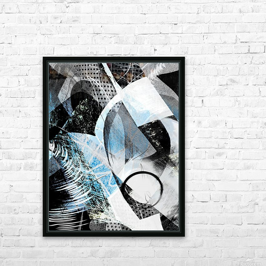 t  a r a HD Sublimation Metal print with Decorating Float Frame (BOX)