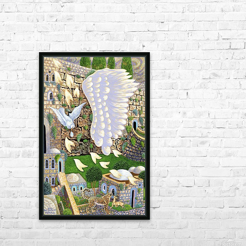 1988 02 HD Sublimation Metal print with Decorating Float Frame (BOX)